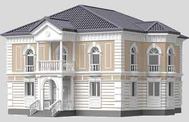 Декор из пенопласта фасадный декор